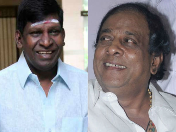 Actors Vadivel and Singamuthu appeared in the Chennai high court on the land issue