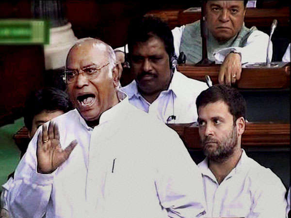 Kharge slams BJP on Tarun Vijay's remarks