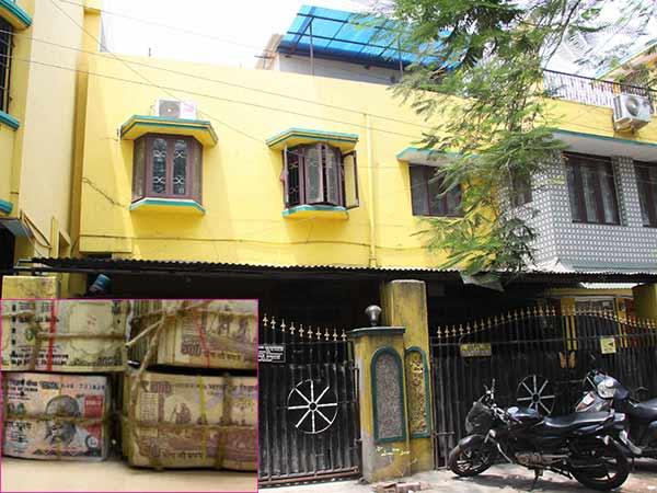 சென்னையில் பாரதிய ஜனதா பிரமுகர் வீட்டில் 45 கோடி ரூபாய் பழைய