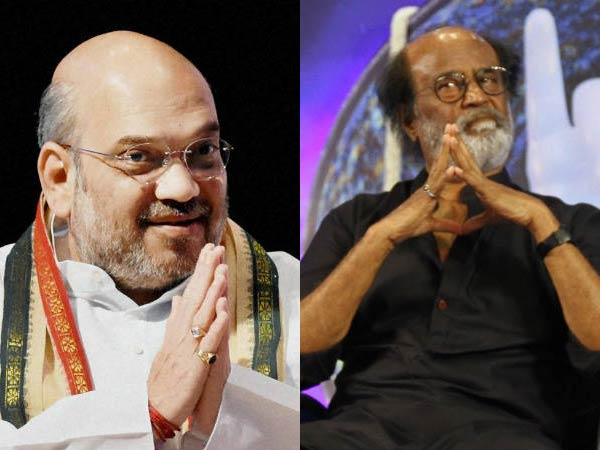 Is Rajini under Amit Shah Influence?