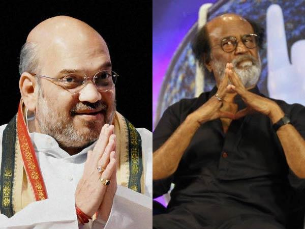 நாங்கள் நல்லவங்க, அதனால எங்க கூட வாங்க... ரஜினிக்கு அமித்ஷா மீண்டும் அழைப்பு