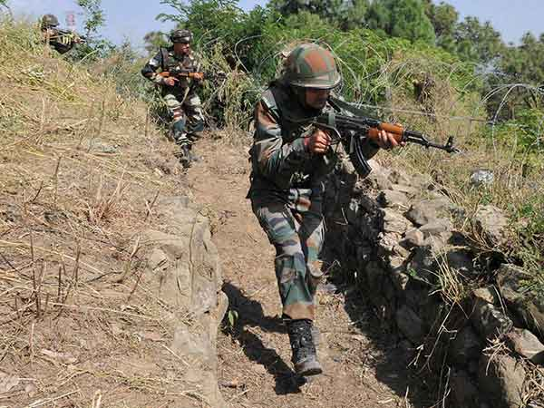 Army is searching for terrorists in Kashmir