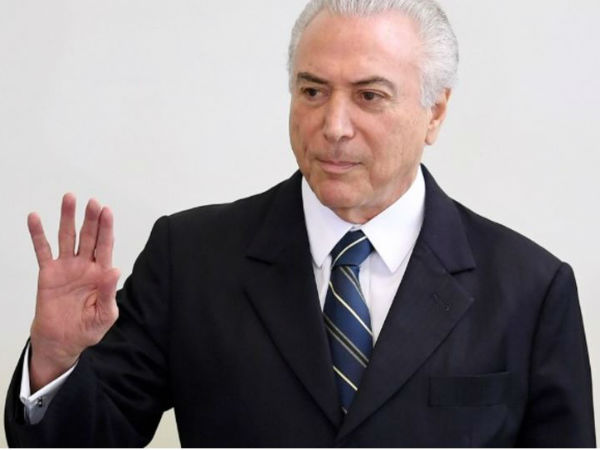 Brazil president is accused of bribing