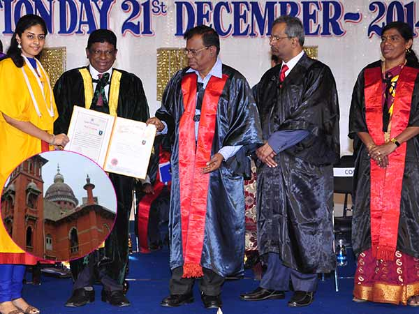 Chennai HC rejects the petition to ban Anna university graduation day