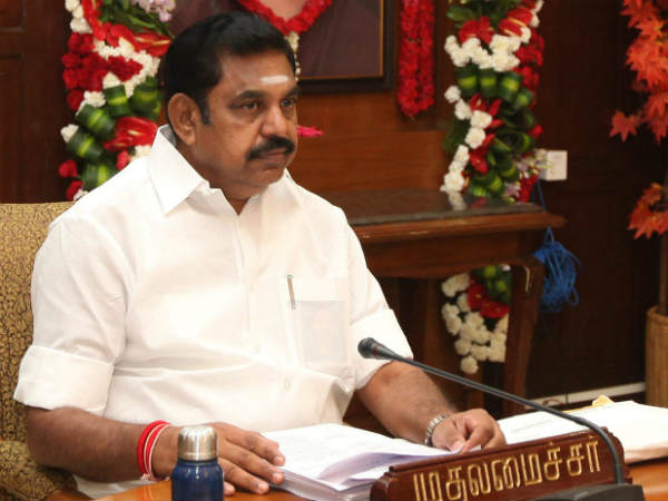 Chief Minister Edappadi Palinasamy discuss with senior ministers