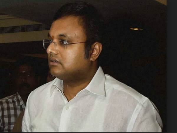karthi chidambaram comments about cbi raid