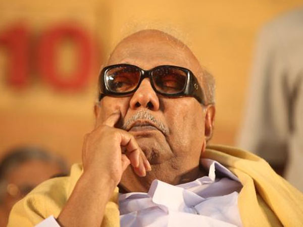 DMK requests cadres not to meet their leader on his 94th birthday