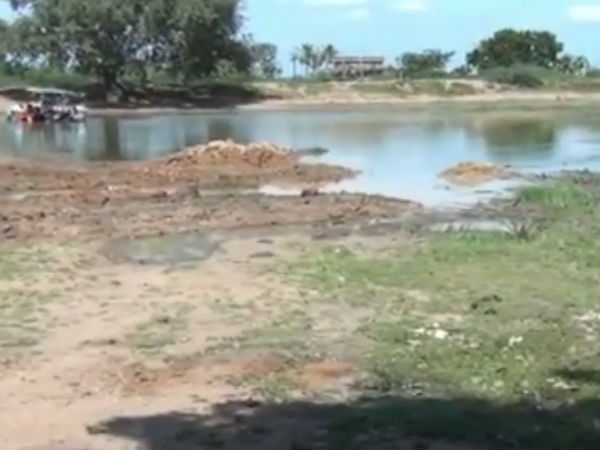 Cleaning of ponds in Tuticorin