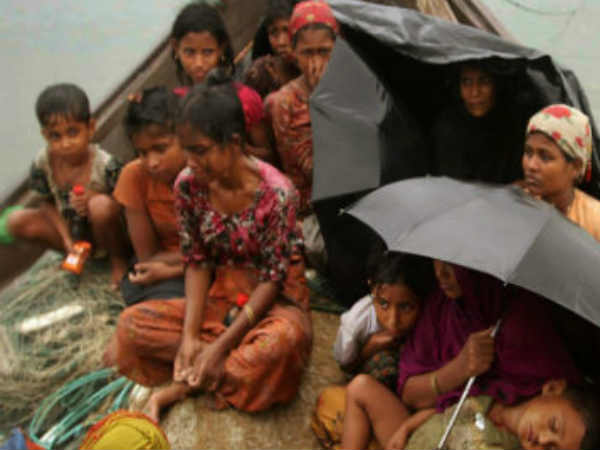 Rohingya refugees forced to send Myanmar