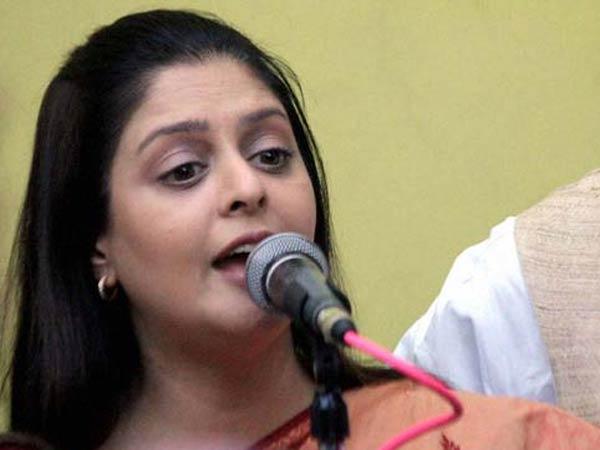 திராவிட நாடு கோரிக்கையில் உடன்பாடு இல்லை- நடிகை நக்மா அதிரடி! #dravidanadu