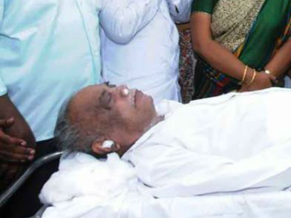N. Periyasamy passed away, DMK announces 3 days mourning