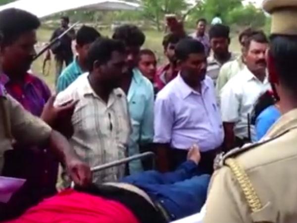 நீச்சல் தெரியாமல் குளத்தில் மூழ்கி மூன்று கல்லூரி மாணவர்கள் சாவு- வீடியோ