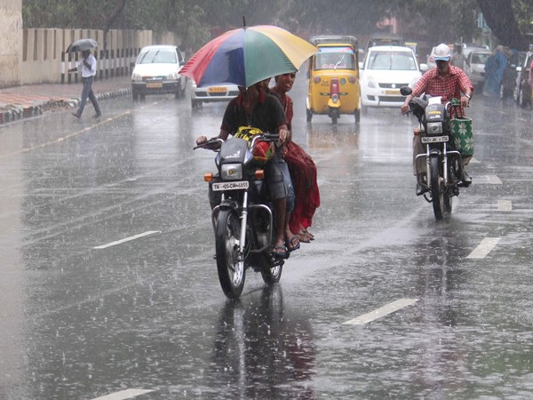 Heavy rain occured in madurai