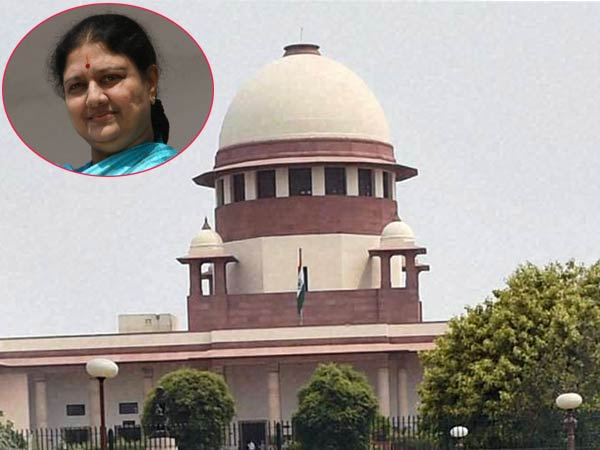 Sasikala has moved the Supreme Court seeking a review