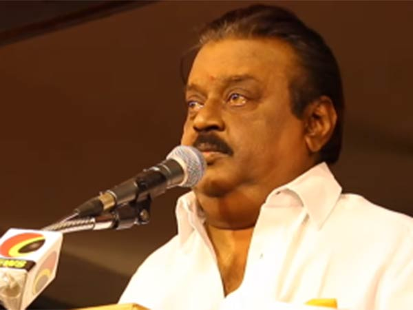 DMDK President Vijayakanth said that Rajini's political entry didn't affect his party