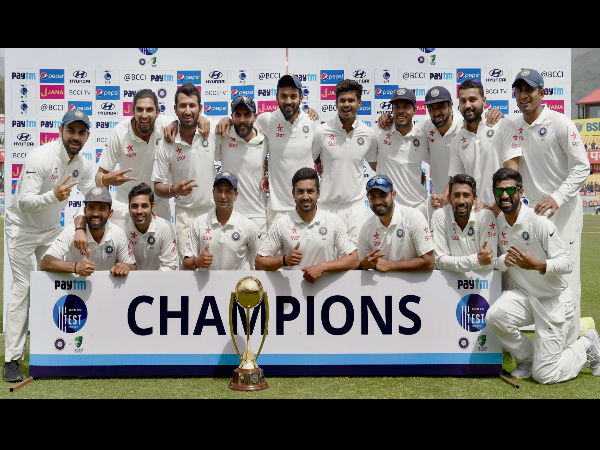 Virat Kohli-led India retain No. 1 Test rank after annual update