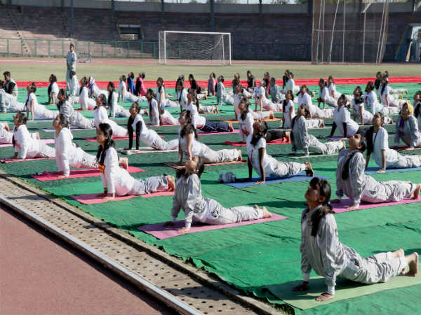 Coimbatore girl Vaishnavi shines in Asian yoga meet