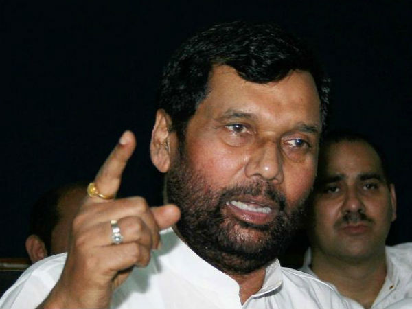 Ram Vilas Paswan has asked all states to follow the reservation policy in allotment of ration shops