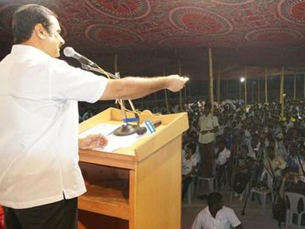 Anbumani ramadoss Accusation on DMK