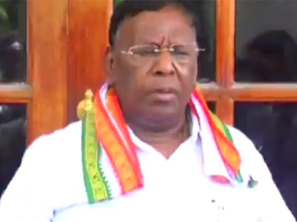 Resolution passed against cow's law told Puducherry CM Narayanasamy