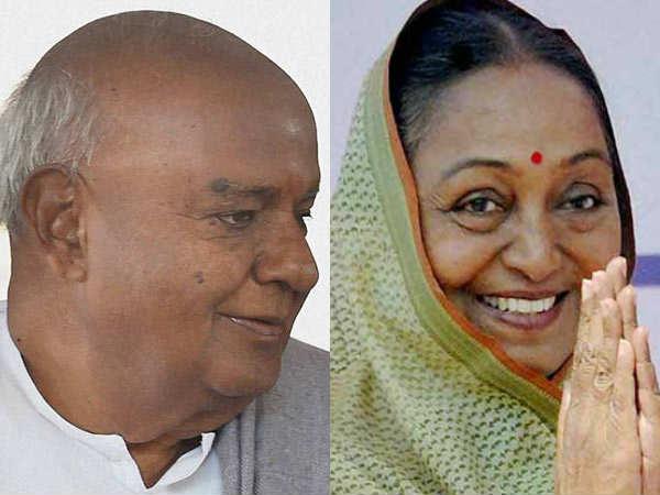 ஜனாதிபதி தேர்தல்: எதிர்க்கட்சிகளின் வேட்பாளர் மீராகுமாருக்கு தேவே கவுடா திடீர் ஆதரவு