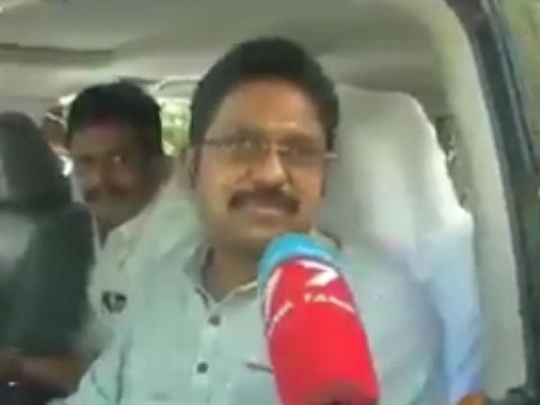 TTV Dinakaran critises Minister Jayakumar