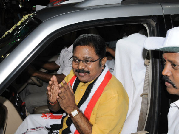 Dinakaran supporters await for minister posts