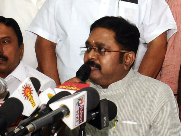 All the issues within the AIADMK party will be solved with in 2 months: TTV Dhinakaran