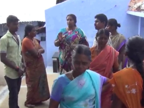Earth quake in Erode villages