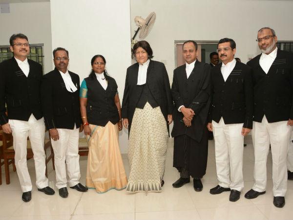 ஐகோர்ட் நீதிபதிகளாக 6 பேர் இன்று பதவி ஏற்பு.. இந்திரா பானர்ஜி பதவிப் பிரமாணம்