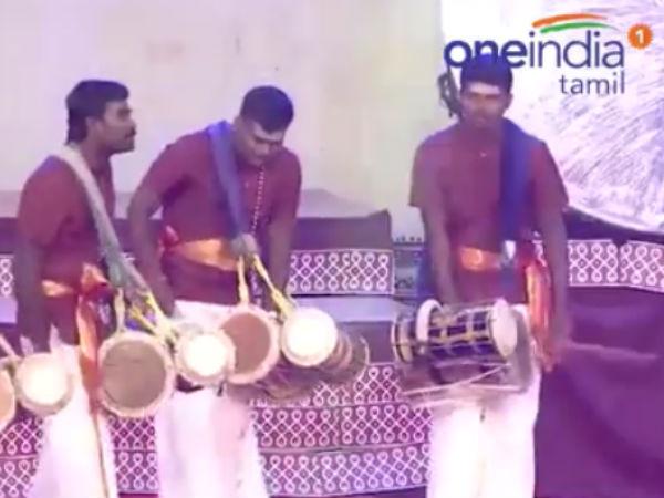 வலைதளங்களில் கொண்டாடப்படும் தமிழர் பாரம்பரிய இசை.... 5 லட்சம் பேர் கண்டுகளித்த வீடியோ!
