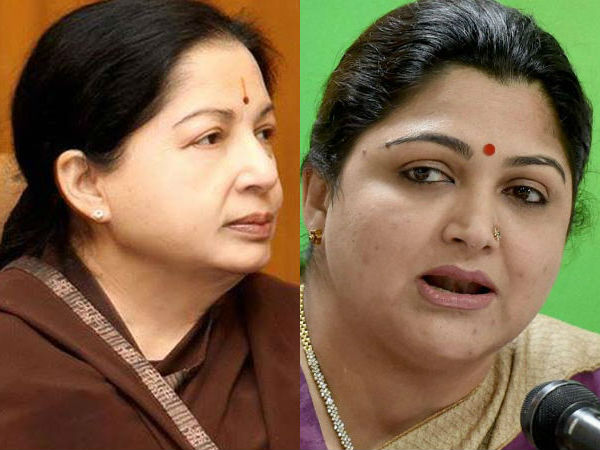 DMK MLAs and khushbu sundar condemns ADMK officials for got sold to Sasikala group