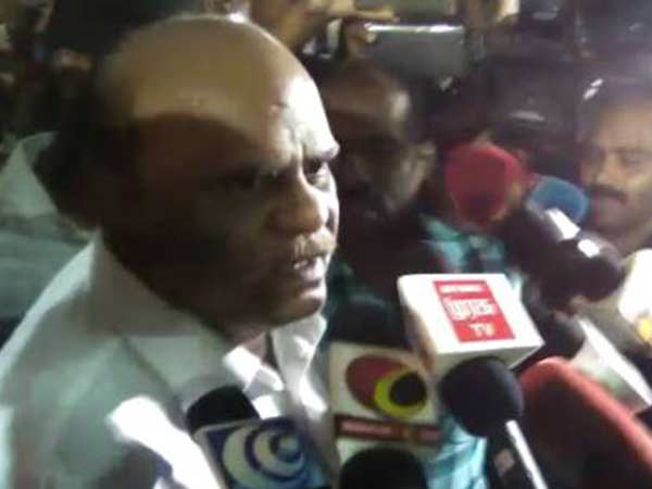 I am not accused, says Karnan