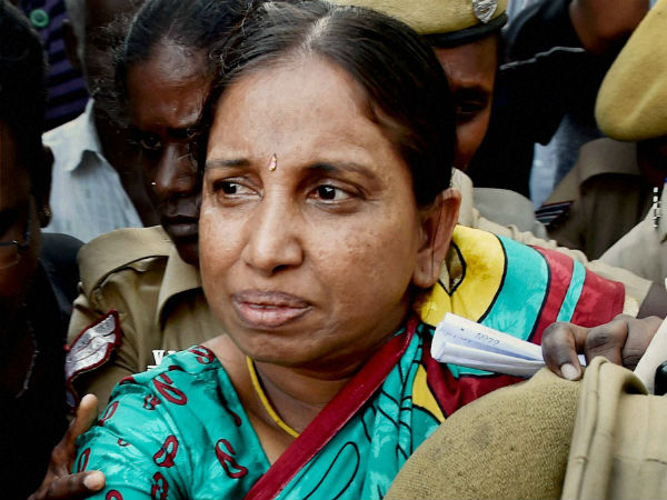 Nalini withdrew hunger strike