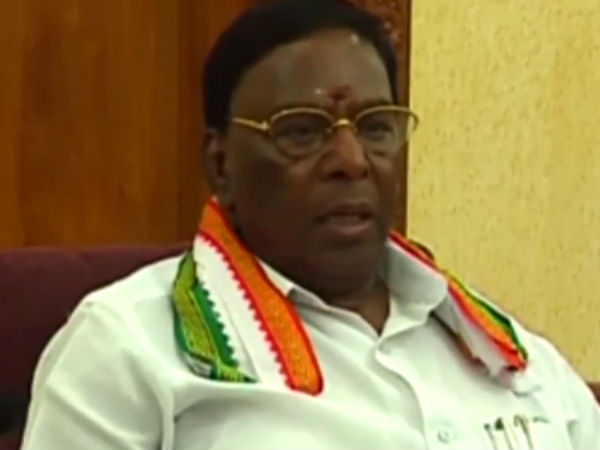 puducherry government has passed a resolution against the federal government on the beef issue
