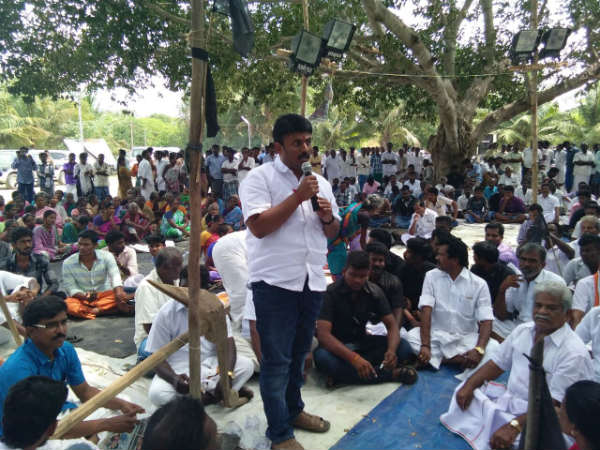 Anti-Hydrocarbon project, Neduvasal villager passed resolution