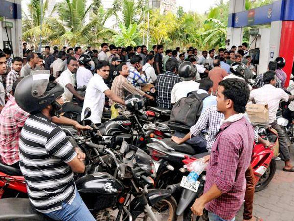 Petrol and Diesel rate cut bt 34 paises and 20 paise
