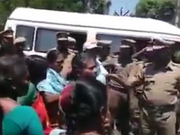 Tension Mounts in Kathiramangalam village; Police Force Deployment