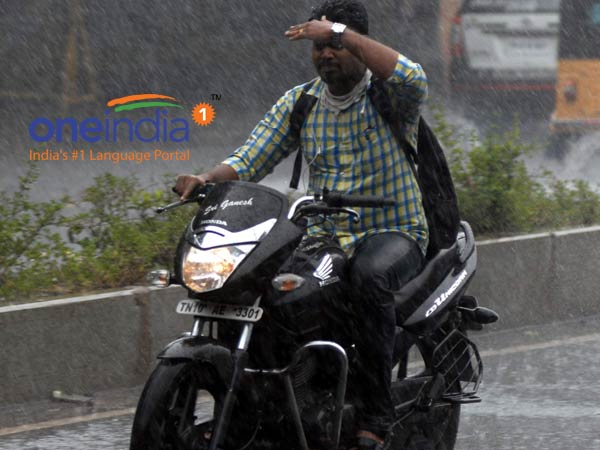 Chennai gets rains