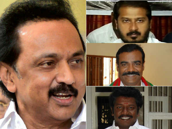 3 AIADMK alliance partner MLAs once again met opposition leader MK Stalin