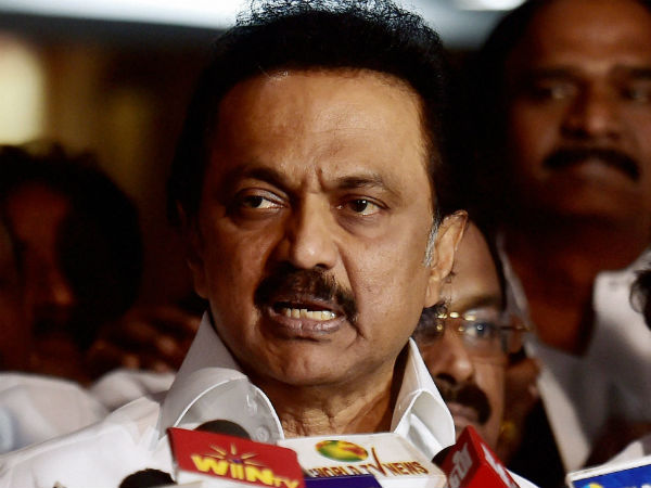MK Stalin says continuation of ADMK government is against Indian Constitution