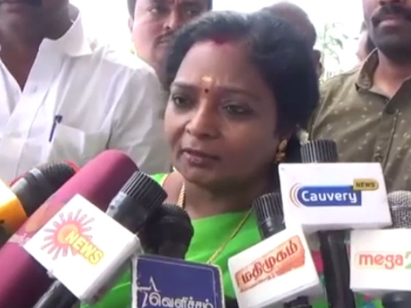 Action should taken on minister who onvolved in pawn masala bribery said Tamilisai