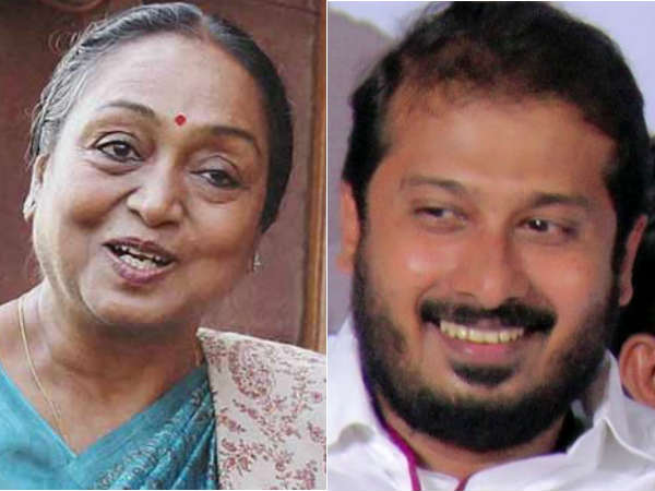Thamimun Ansari extended her support to meira kumar