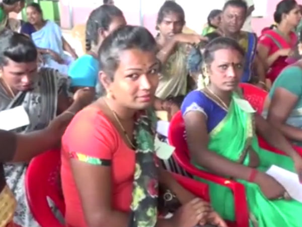District collector Malarvizhi ordered to give patta land to transgenders