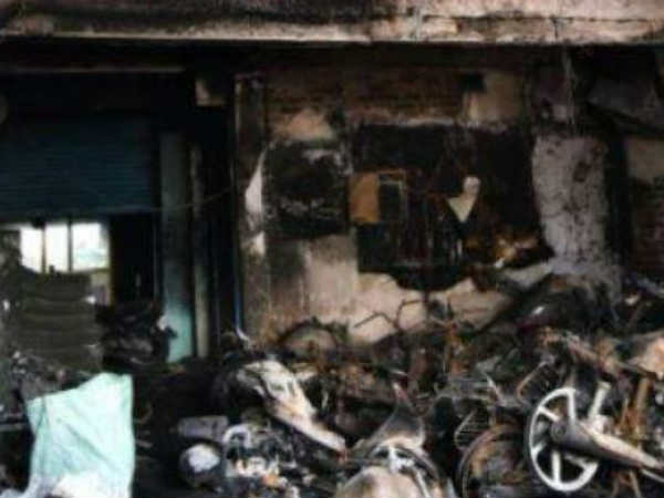vadapalani fire accident, building owner arrested