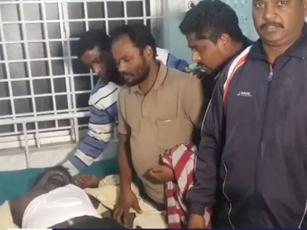நடுரோட்டில் விசிக பிரமுகரும் டிராபிக் போலீஸும் மோதல்: வீடியோ