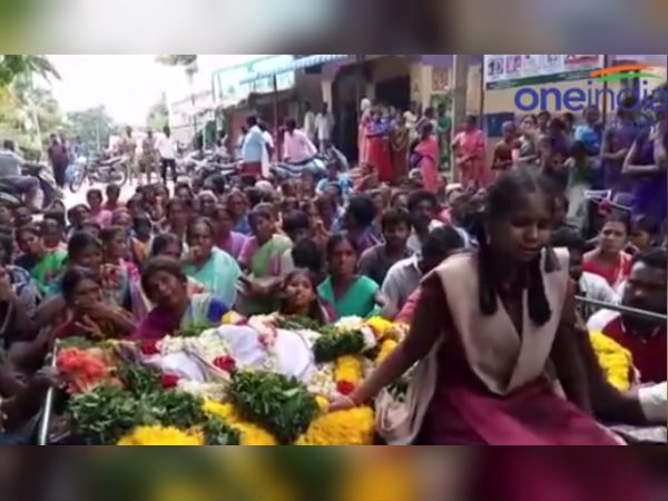 In Krishnagiri, Veppanahalli woman died because of family planning operation