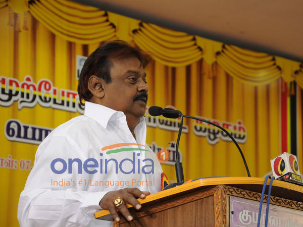 vijayakanth welcomed case against CM Palanisamy over cash distribution issue