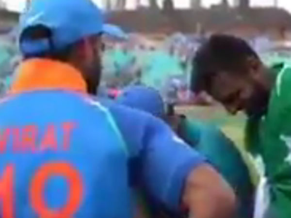 Spirit Of Cricket lifted by Indian players