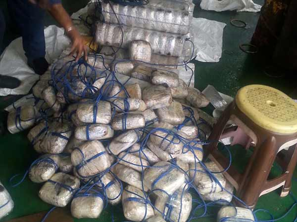1,500 kg Heroin Worth Rs. 3,500 Crore Seized From Vessel Off Gujarat